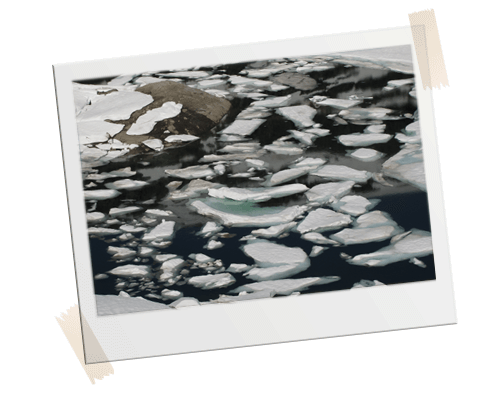 Refleksjon - Integrale Massagepraktijk - Polaroid